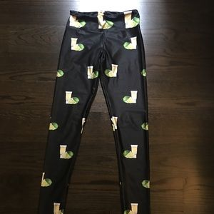 Goldsheep tequila and lime leggings!!
